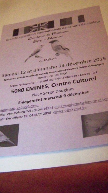 émines 2015  12-13décembre