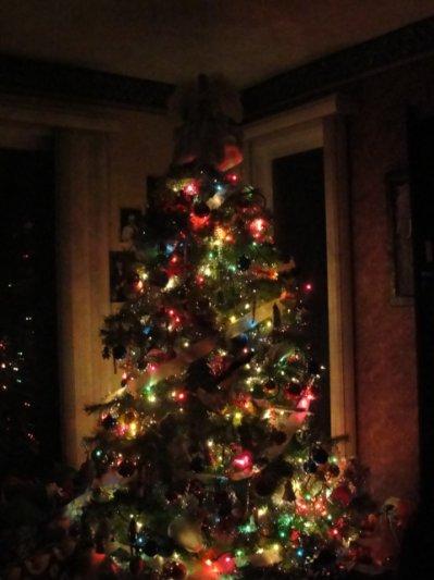 «Parce qu'est c'est un moment magique, qu'on peut revoir la famile toute unis et que sa n'arrive qu'une fois par année , je veux juste vous dire Joyeux Noel, profiter en et prener soin de vous et bonne année 2010 (L)»