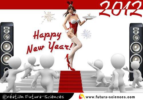 meilleurs voeux a tous 2012