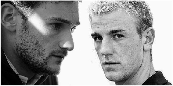 14. Hugo Lloris et Joe Hart Requested by IGotYouLondon/ Ecrit par Lina
