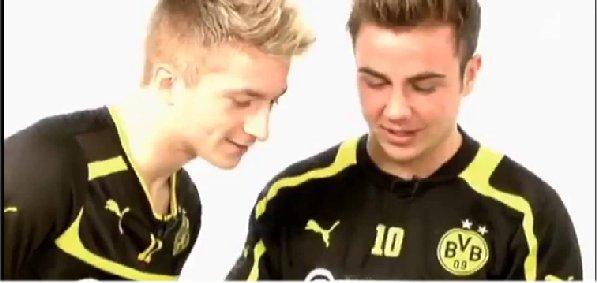 35. Mario Götze & Marco Reus   Requested by Hachiko/ Ecrit par Lina