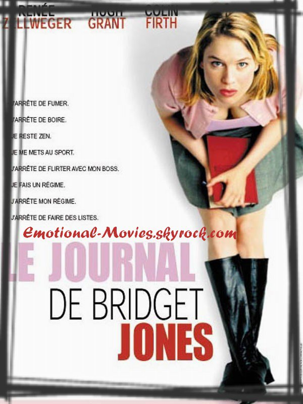 """LE JOURNAL DE BRIDGET JONES"""