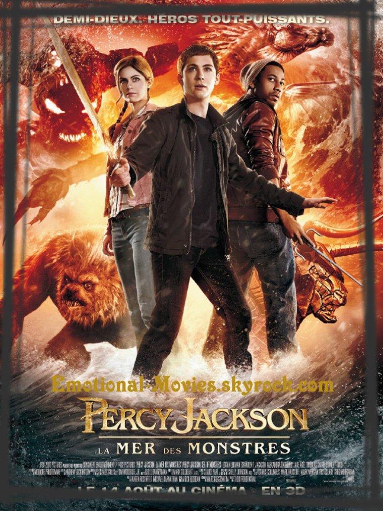 """PERCY JACKSON 2 LA MER DES MONSTRES"""