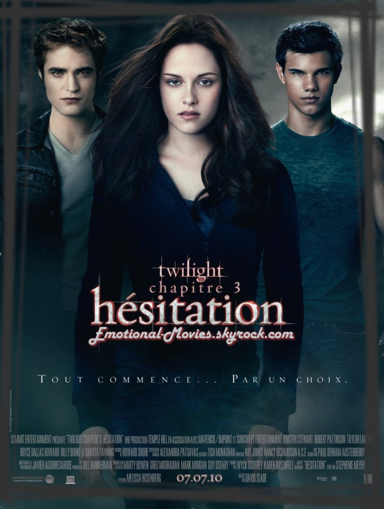 """TWILIGHT 3 - HÉSITATION"""