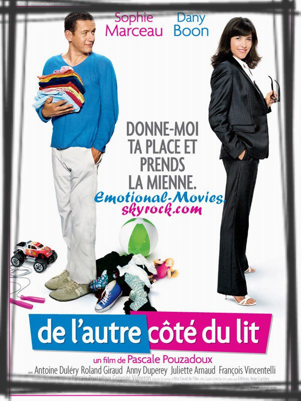 """""""DE L'AUTRE CÔTÉ DU LIT"""""""