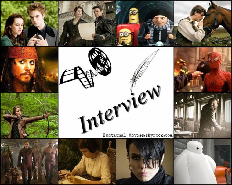 ★ INTERVIEW N°2 ★