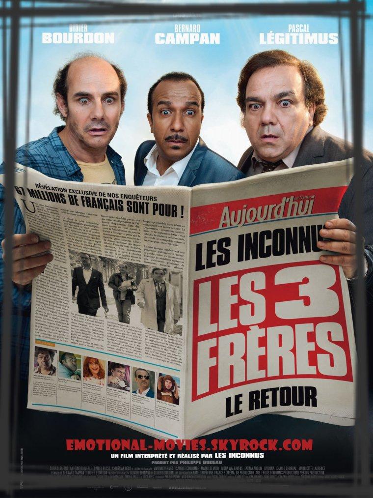 """""""LES 3 FRÈRES, LE RETOUR"""""""