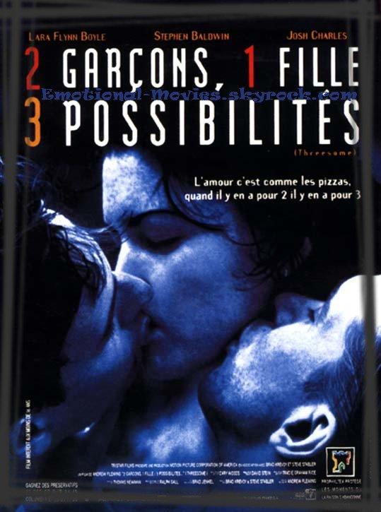 """2 GARÇONS, 1 FILLE, 3 POSSIBILITÉS"""