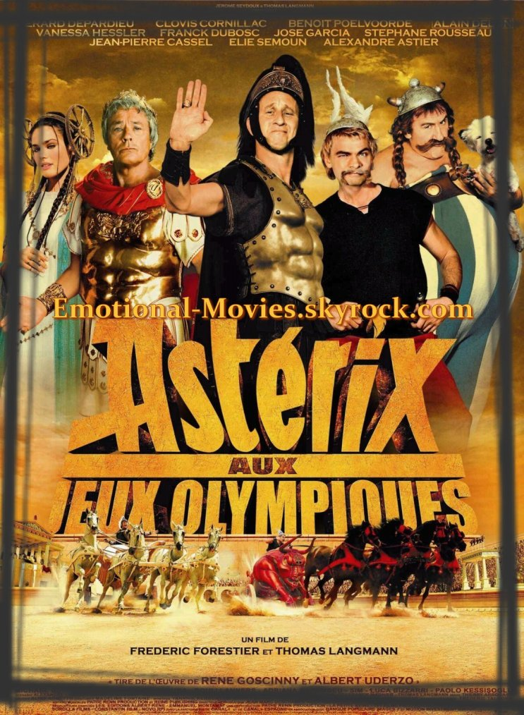 """""""ASTÉRIX AUX JEUX OLYMPIQUES"""""""