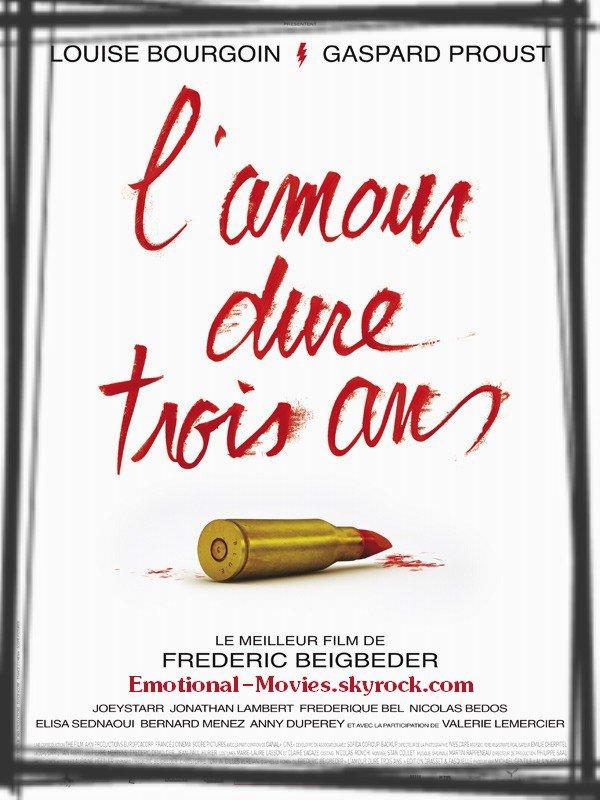 """""""L'AMOUR DURE TROIS ANS"""""""