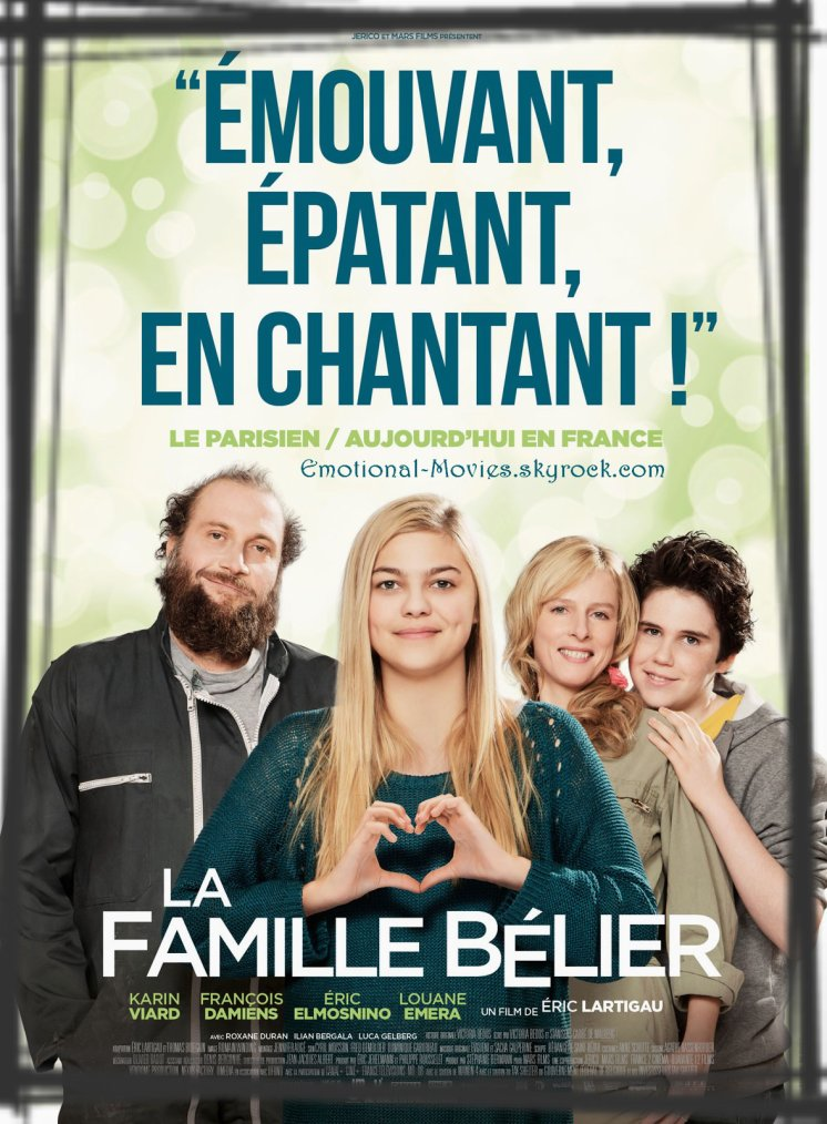 """""""LA FAMILLE BÉLIER"""""""