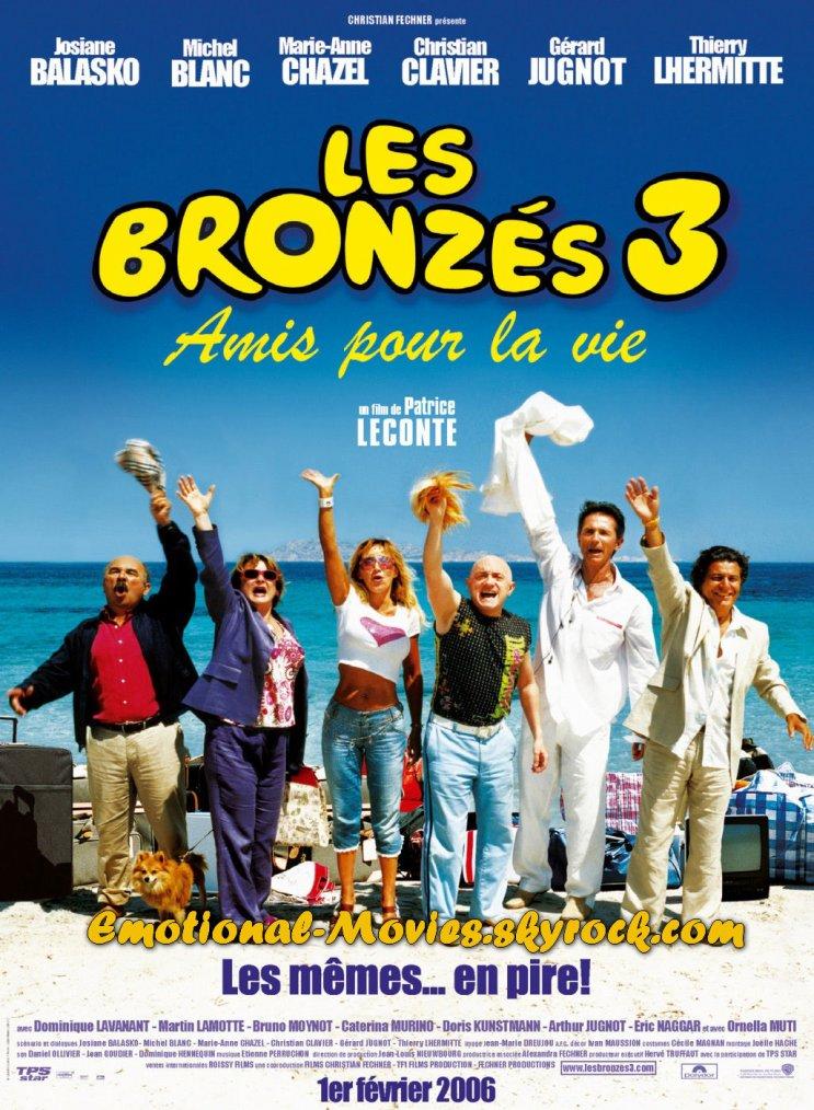 """""""LES BRONZÉS 3 AMIS POUR LA VIE"""""""