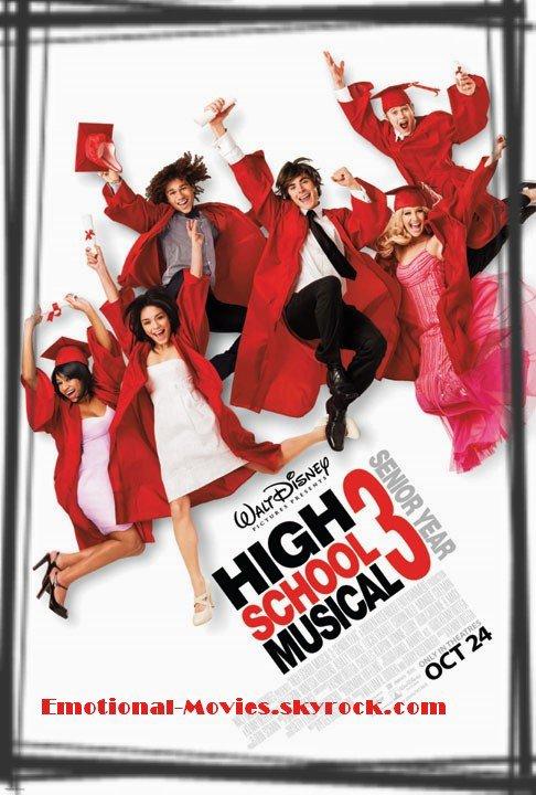 """HIGH SCHOOL MUSICAL 3 - NOS ANNÉES LYCÉE"""
