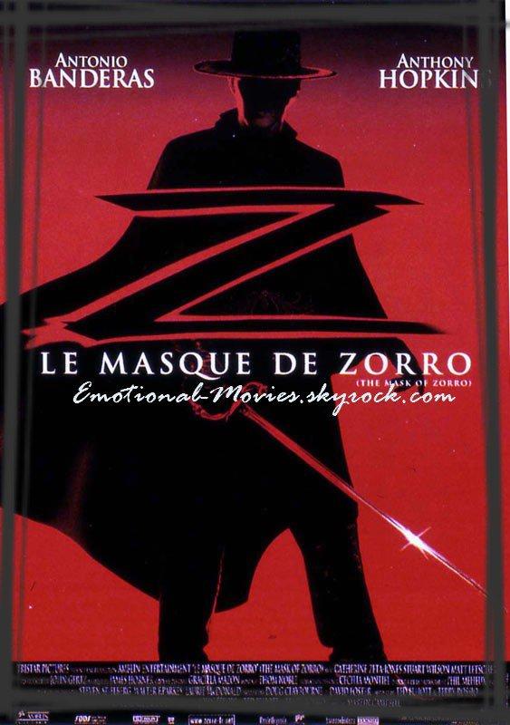 """LE MASQUE DE ZORRO"""