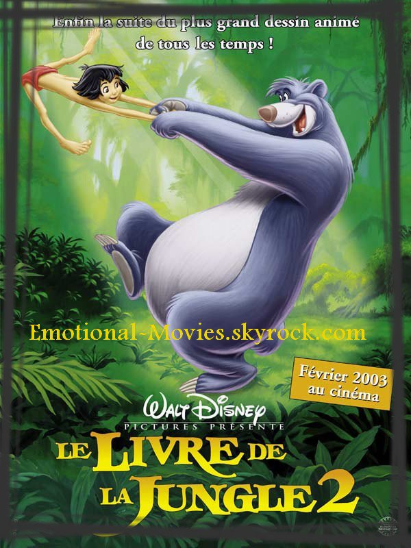 """LE LIVRE DE LA JUNGLE 2"""