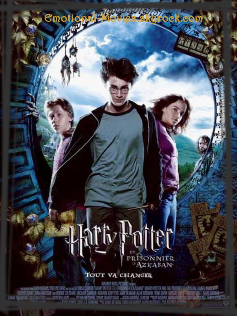 """HARRY POTTER 3 - LE PRISONNIER D'AZKABAN"""