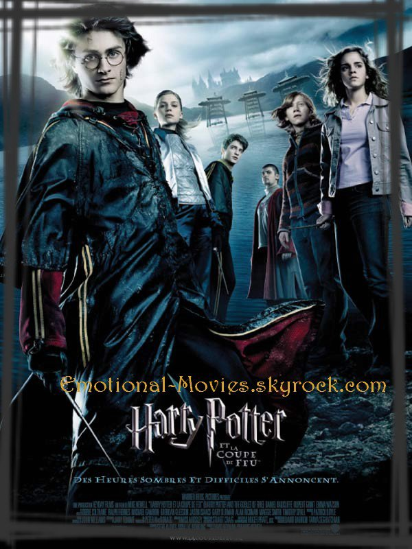 """HARRY POTTER 4 - LA COUPE DE FEU"""