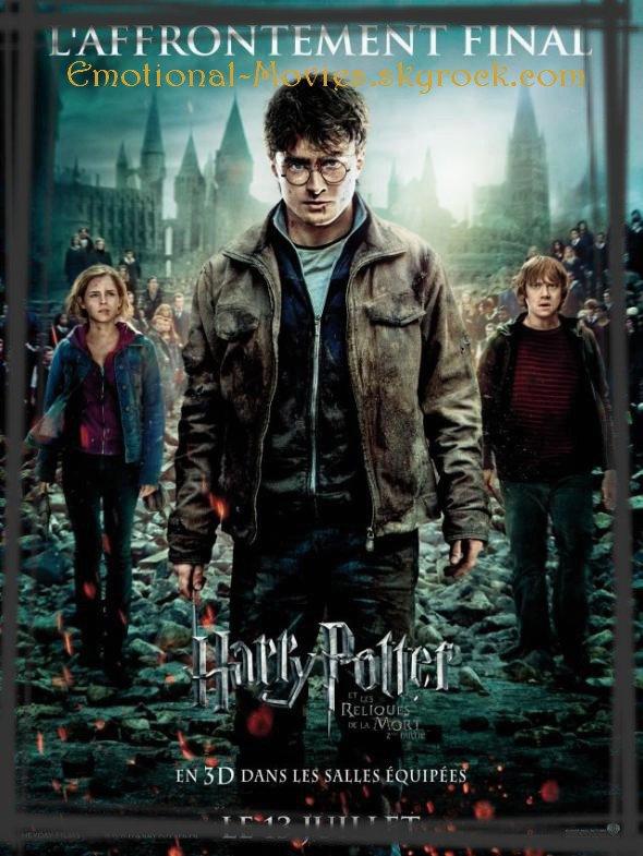 """""""HARRY POTTER 7 – PARTIE 2 – ET LES RELIQUES DE LA MORT"""""""