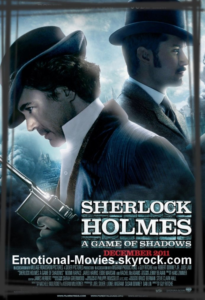 """SHERLOCK HOLMES 2 JEUX D'OMBRES"""