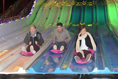One Direction à la fête foraine !