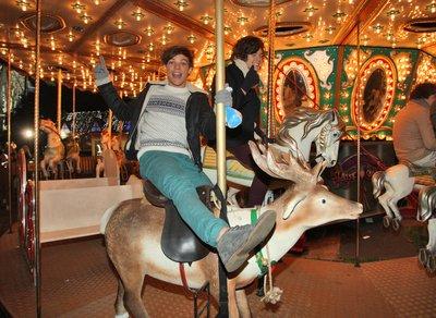 One Direction à la fête foraine !