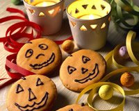 Petits biscuits d' Halloween
