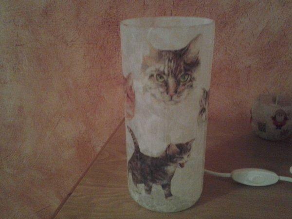 lampe chats au profit de la SPA