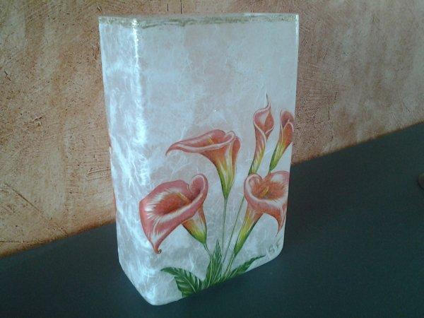 vase rectangulaire Calla
