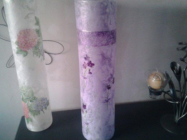 vase mauve