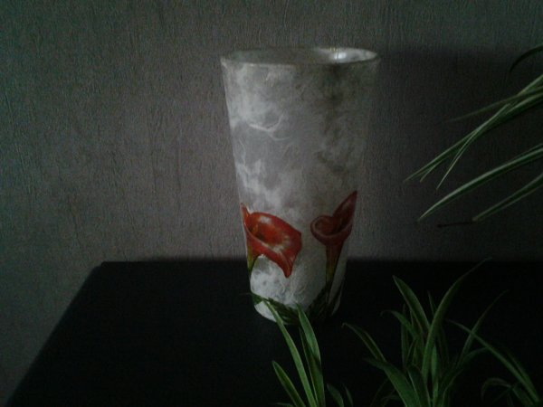 vase fleurs Calla