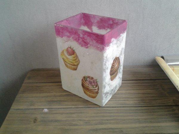 porte ustensiles cuisine cup cake