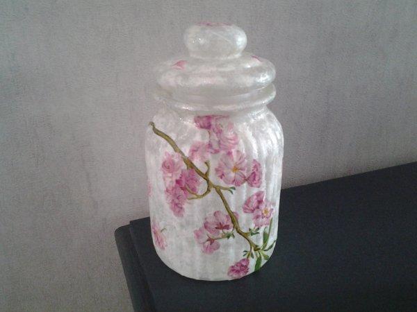 bonbonniere fleurs de pommiers