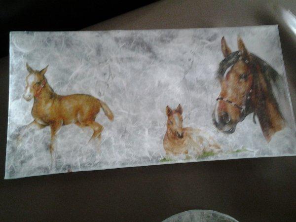 theme chevaux pour une vente au profit d une association