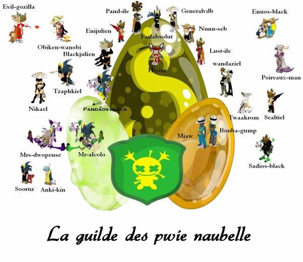 La guilde des pwie naubelle
