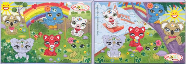 Kinder Puzzles Mixart 2013 Canada
