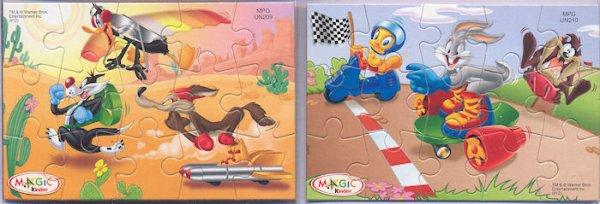 Kinder Puzzles Looney Tunes Mexique 2012