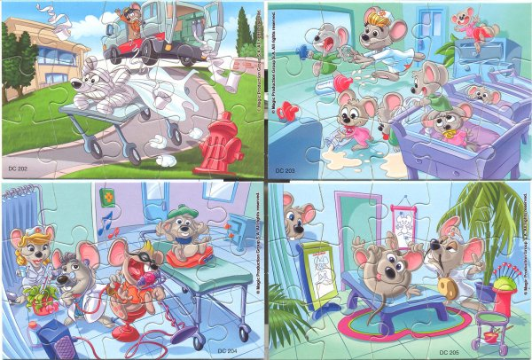 Kinder Puzzles Mouse Doctor  2011 Europe