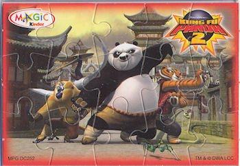 Kinder Puzzles Kung Fu Panda 2     2011