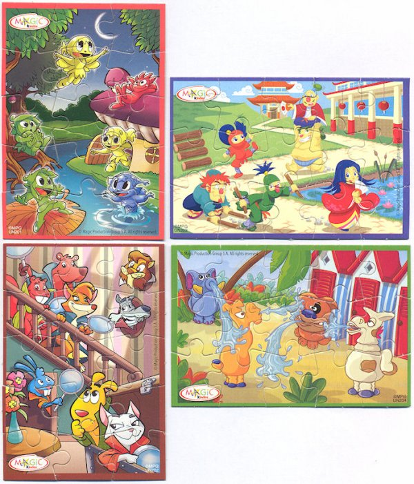 Kinder Puzzles 2010  Pays arabe asie