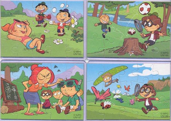 Kinder Puzzles Funny Students 2  pays de l'Est  2010