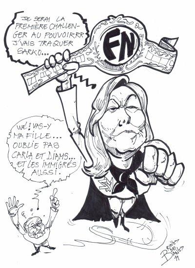 Tel père telle fille : Marine le Pen à la tête du FN...