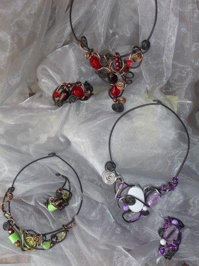Parrure collier- bracelet