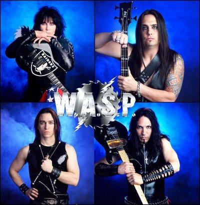 Le groupe W.A.S.P. !!!
