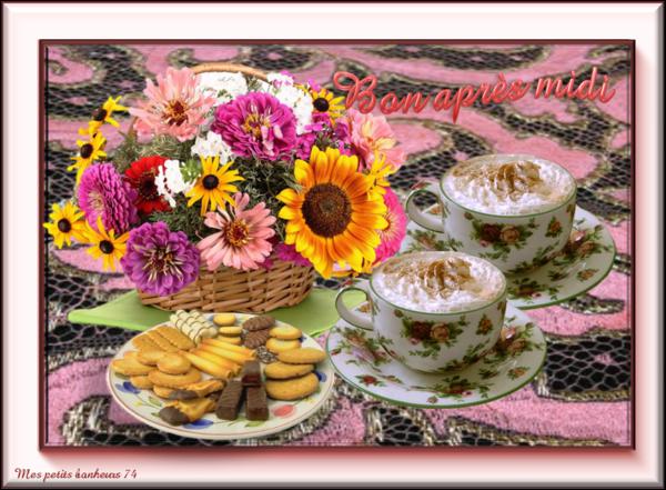 Bonjour...très bon après midi de dimanche...