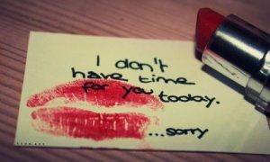 « - Je ne te quitterais jamais. - Ne jamais dire jamais... »