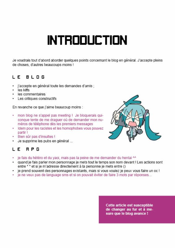 introduction !