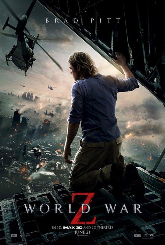 Pour ceux qui aiment les zombies, l'apocalypse et Brad Pitt <3 Allez voir ce film juste exceptionnel ! bisous à vous <3