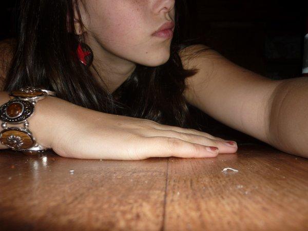 Je me suicide au Nutella ! :D ♥                                                                  :$  Narcissisme         Suprême ! <3
