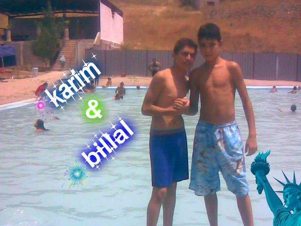 un bon souvenir avec karim mon cousin le meilleur