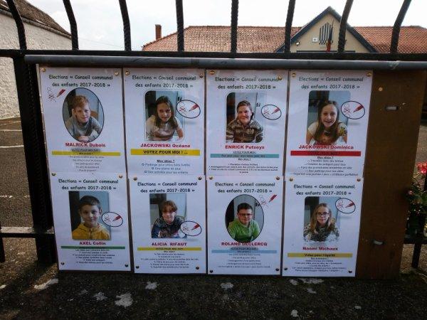 La campagne électorale est lancée en P5 et P6